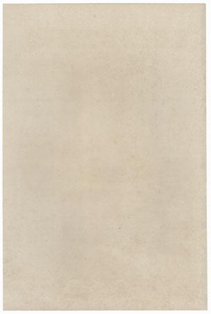 Narukami (The Thunder God) by Torii Kiyotada (1875 - 1941)