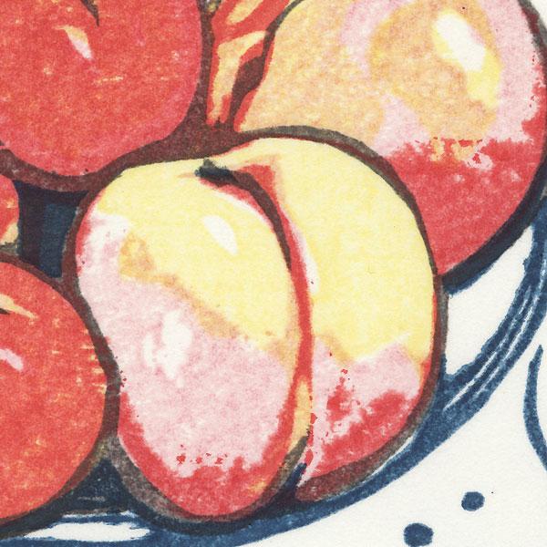 Bowl of Fruit by Masaya Watabe (born 1931)