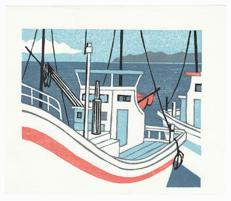 Boat, 1999 by Fumio Fujita (born 1933)
