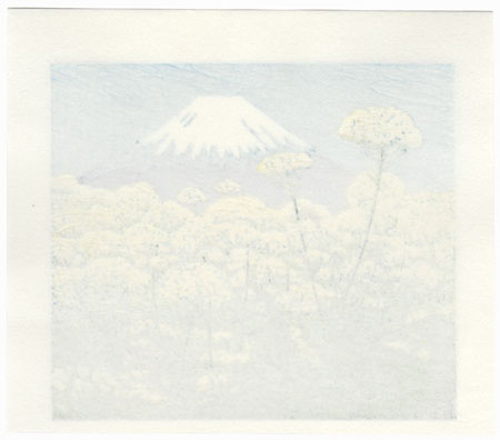 Fuji from a Field of Flowers, 2002 by Koichi Maeda (born 1936)