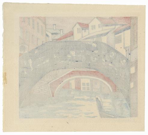 Venice by Tokuriki (1902 - 1999)