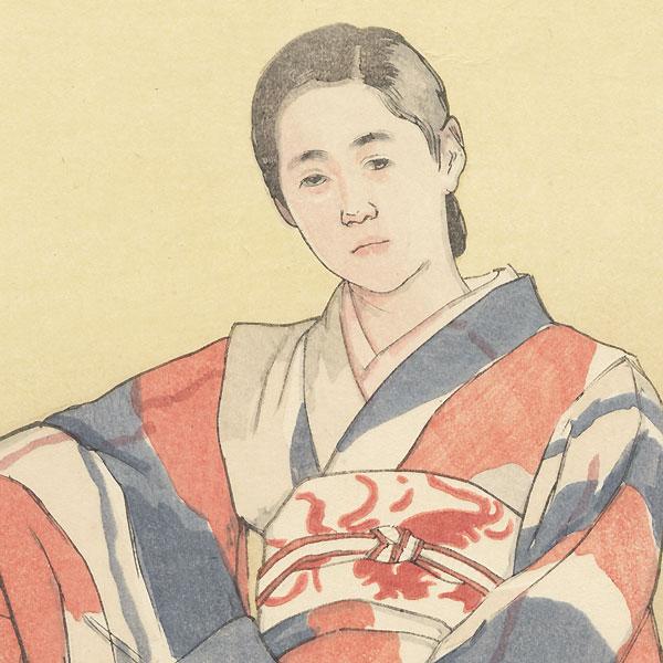 Rest, 1936 by Hideta Nagatochi (1873 - 1942)