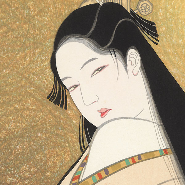 Beauty of the Kyoho Era, 1973 by Iwata Sentaro (1901 - 1974)
