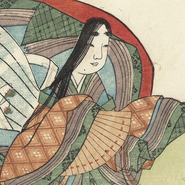 Daini no Sanmi, 1808 by Mitsusada Tosa (1738 - 1806)