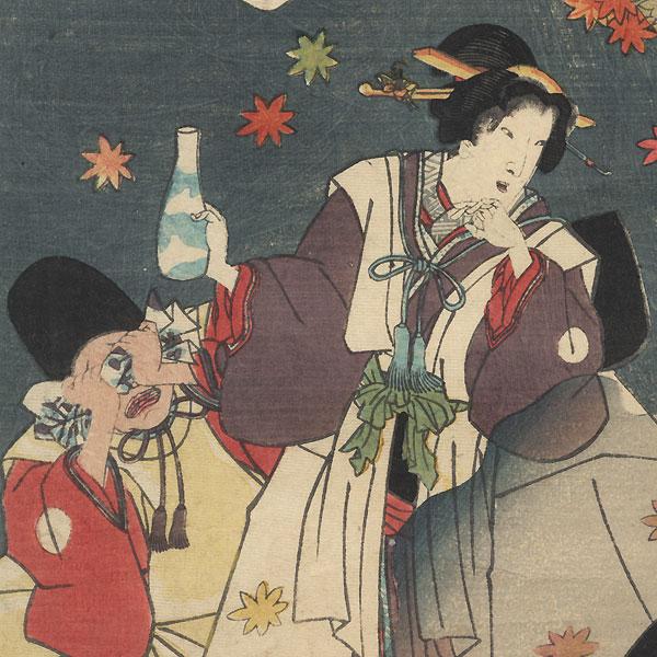 Suzumushi, Chapter 38 by Kunisada II (1823 - 1880)