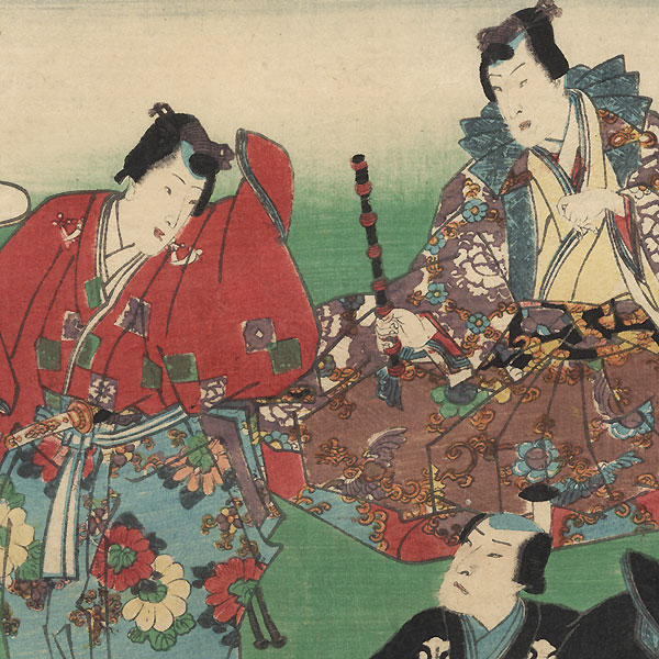 Yokobue, Chapter 37 by Kunisada II (1823 - 1880)