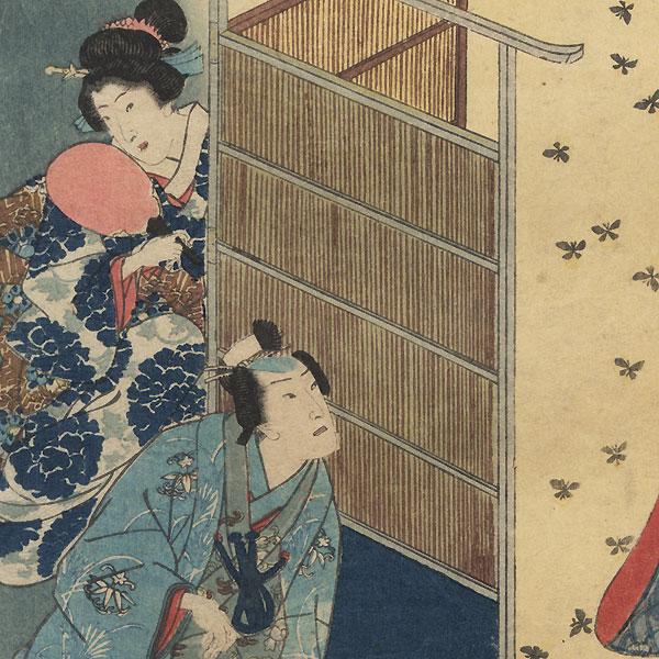 Hotaru, Chapter 25 by Kunisada II (1823 - 1880)