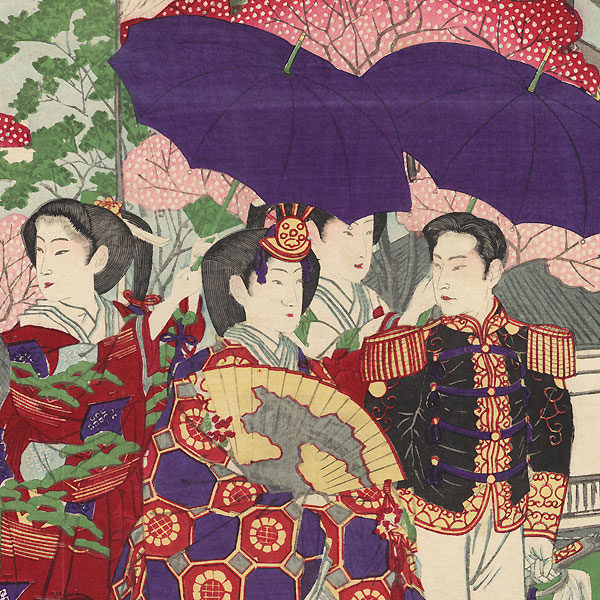 Royal Couple, 1881 by Ginko (active 1874 - 1897)