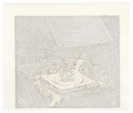 Sumo Match by Takao Sano (born 1941)