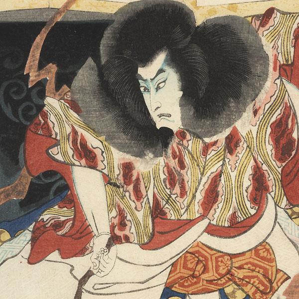 Umagae, Chapter 32: Kan Shojo Michzane Ko, 1864 by Yoshiiku (1833 - 1904)