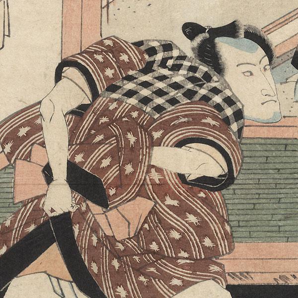Seki Sanjuro II as Keyamura Rokusuke, 1824 by Toyokuni I (1769 - 1825)
