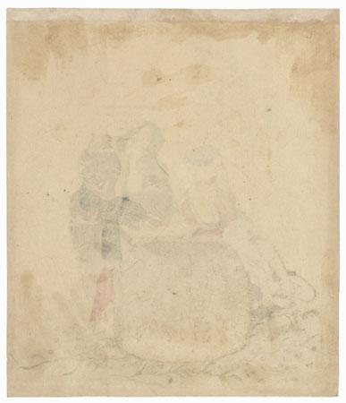 Abalone Diver by Shigenobu I (1787 - 1832)