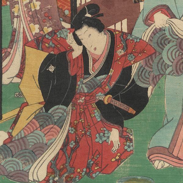 Agemaki, Chapter 47 by Kunisada II (1823 - 1880)