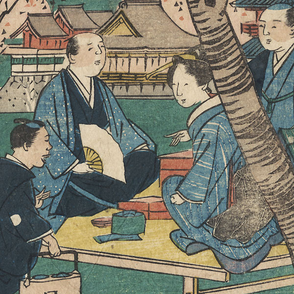 Offered in the Fuji Arts Clearance - only $24.99! by Umekawa Tokyo (active circa mid-1850s - early 1860s)