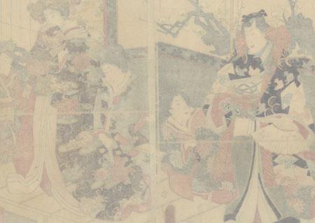 Spring Colors, 1861 by Kuniaki II (1835 - 1888)