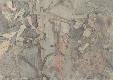 Arresting Ishikawa Goemon, 1847 - 1852 by Toyokuni/Kunisada (1786 - 1864)