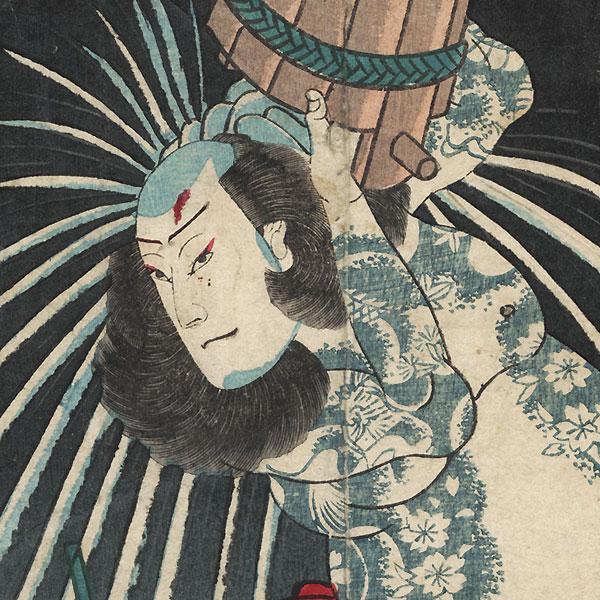 Benevolence: Actor as Danshichi Kurobei by Attributed to Hirosada (active circa 1847 - 1863)