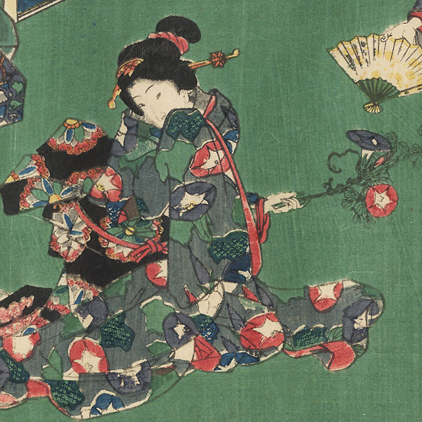 Usugumo, Chapter 19 by Toyokuni III/Kunisada (1786 - 1864)