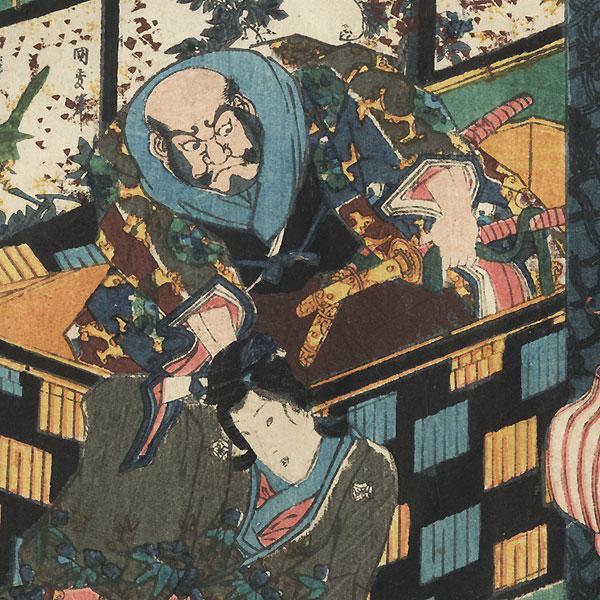 Hahakigi, Chapter 2 by Toyokuni III/Kunisada (1786 - 1864)