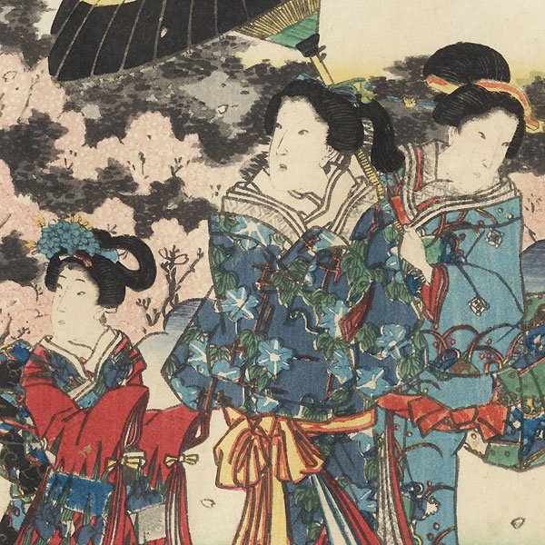 Kagaribi, Chapter 27 by Toyokuni III/Kunisada (1786 - 1864)