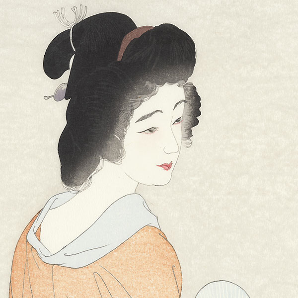 Long Undergarment, Rare Color Variant, 1929 by Torii Kotondo (1900 - 1976)