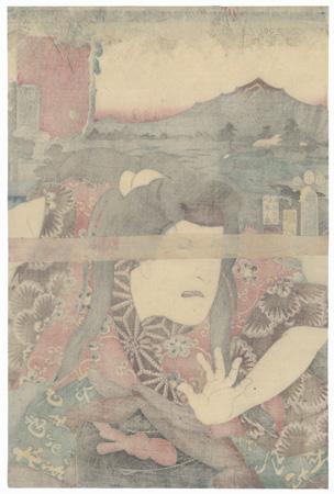 Midono: Nakamura Utaemon IV by Toyokuni III/Kunisada (1786 - 1864)