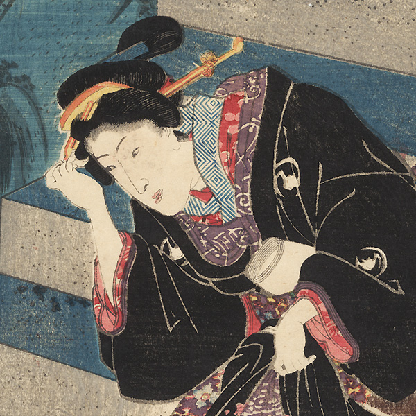 Hazy Spring Day, 1848 by Toyokuni III/Kunisada (1786 - 1864)