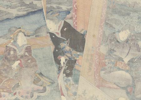 Scene from Inaka Genji, 1847 - 1852 by Toyokuni III/Kunisada (1786 - 1864)