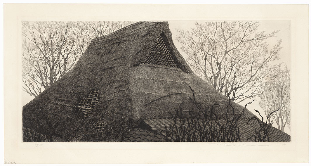 Ruined Farm-house No. 3, 1973 by Tanaka Ryohei (born 1933)