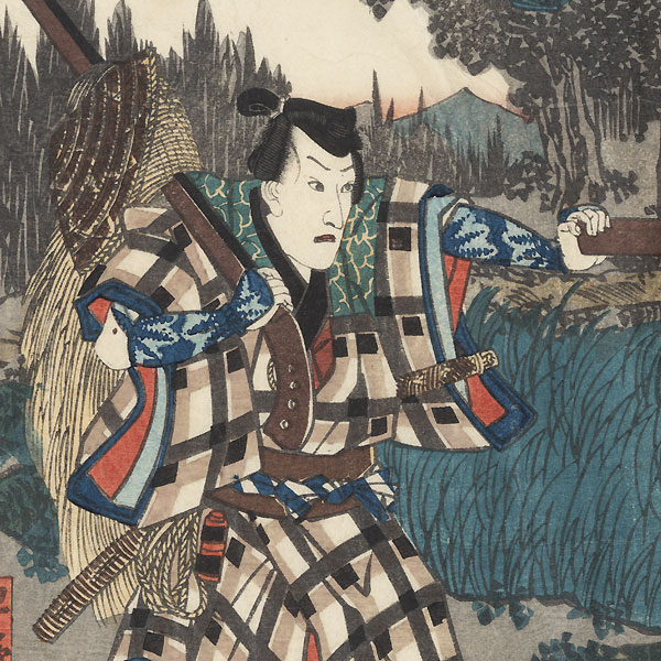The 47 Ronin, Act 5: The Departure of Okaru, 1847 - 1852 by Toyokuni III/Kunisada (1786 - 1864)