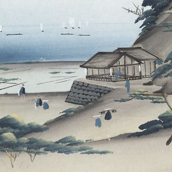 Distant View of the Ocean by Shin-hanga & Modern artist (unsigned)