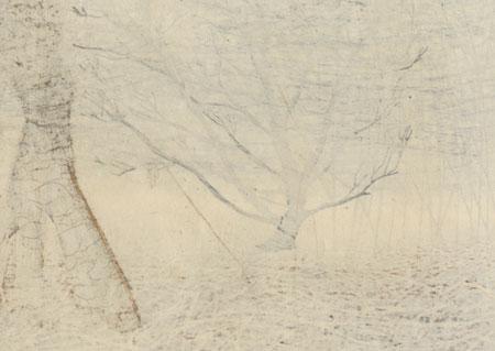 Fuyushigoto (Winter Work), 1984 by Joshua Rome (born 1953)