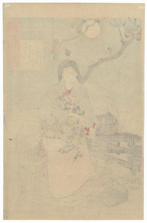 Lady Chiyo by Yoshitoshi (1839 - 1892)