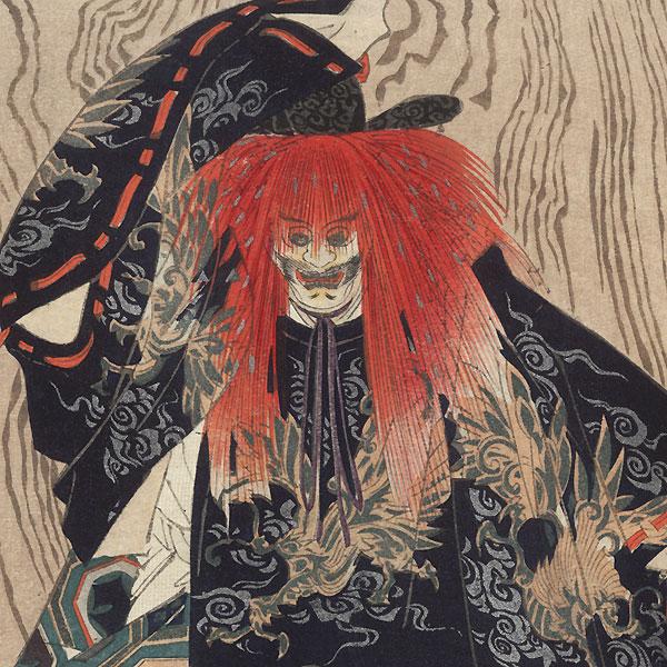 Kamo by Tsukioka Kogyo (1869 - 1927)