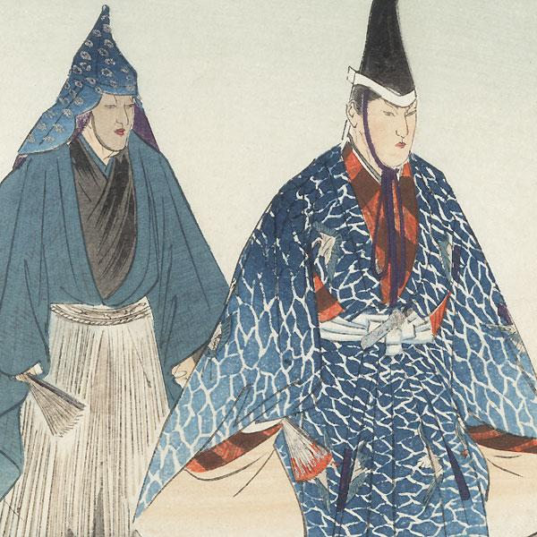 Shunkan by Tsukioka Kogyo (1869 - 1927)