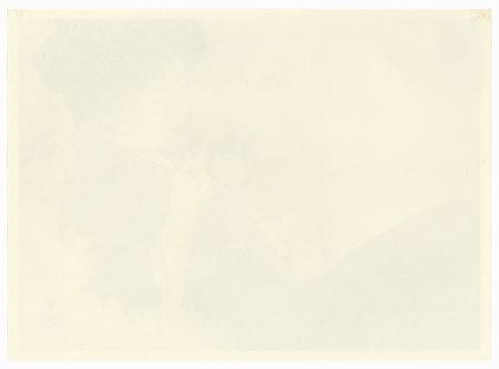 The Fragrance of the Chrysanthemum Kuchi-e Print by Kajita Hanko (1870 - 1917)