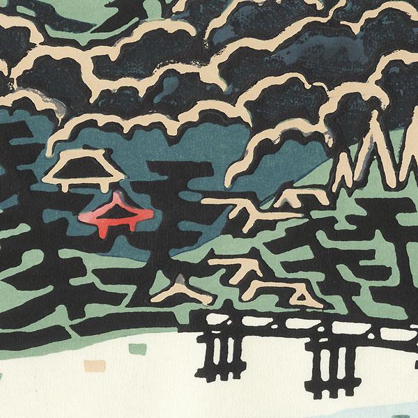 Arashiyama by Taizo Minagawa (1917 - 2005)