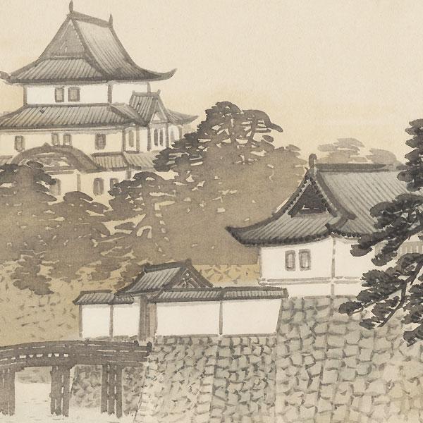 Castle, 1921 by Kawai Gyokudo (1873 - 1957)