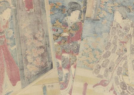 Brazier, 1847 - 1852 by Toyokuni III/Kunisada (1786 - 1864)