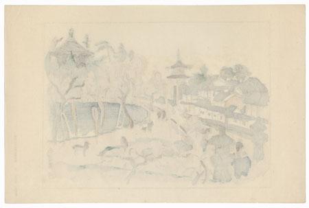 Nan'endo, Temple 9 by Hiromitsu Nakazawa (1874 - 1964)