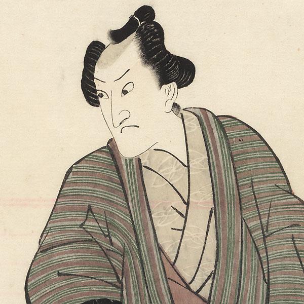 Onoe Matsusuke as Gengoro, 1812 by Toyokuni I (1769 - 1825)