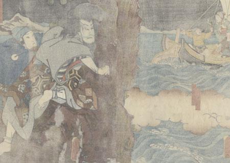 Left Behind, 1847 - 1852 by Toyokuni III/Kunisada (1786 - 1864)