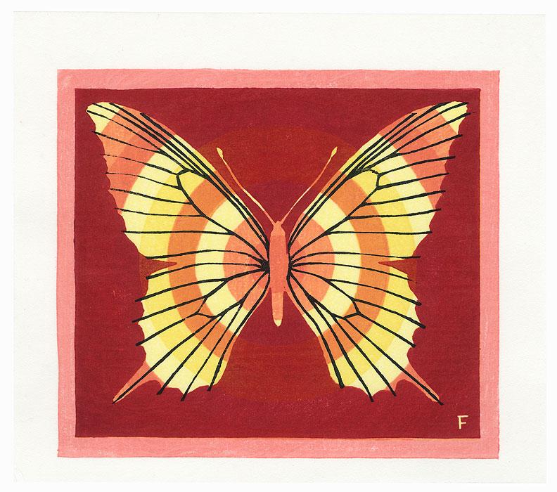 Butterfly by Fumio Fujita (born 1933)