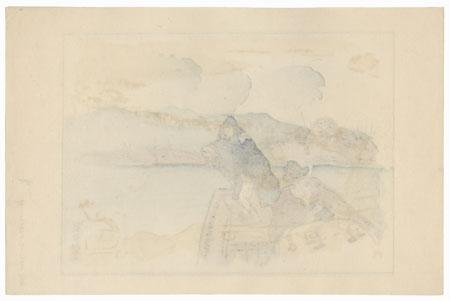 Temple 35 by Hiromitsu Nakazawa (1874 - 1964)