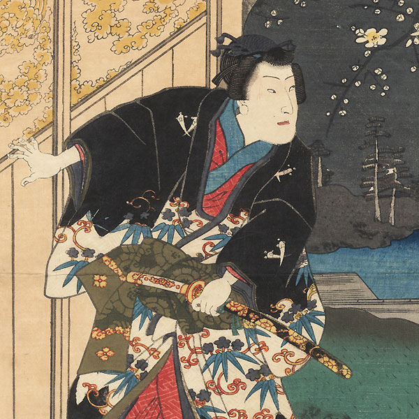 The Second Month (Kisaragi), 1859 by Toyokuni III/Kunisada (1786 - 1864)