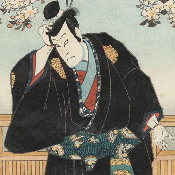 Rivals and Courtesan, 1860 by Toyokuni III/Kunisada (1786 - 1864)