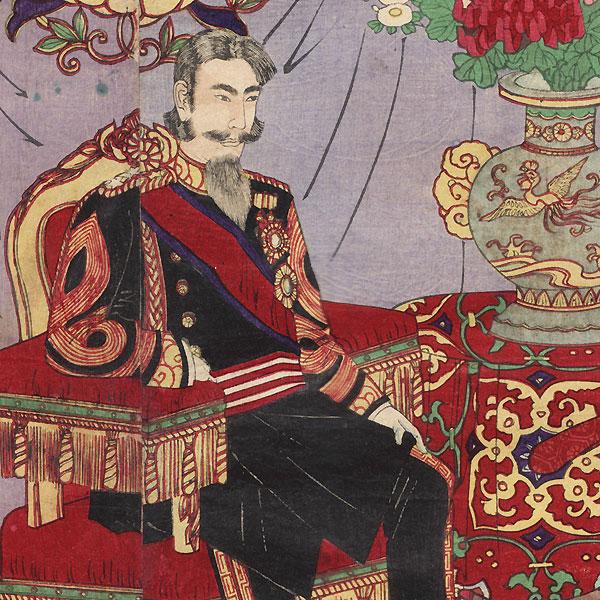 The Honorable Crown Prince, 1889 by Nobukazu (1874 - 1944)