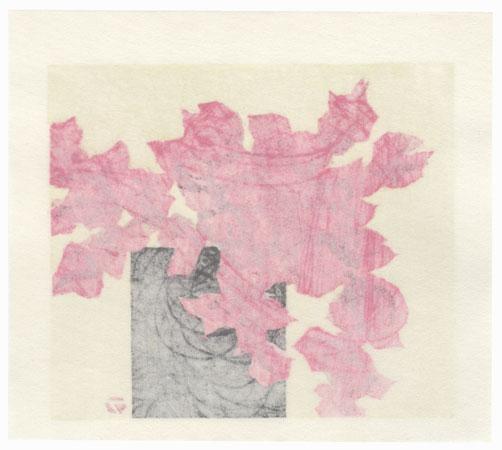 Flowers in a Basket, 1985 by Fumio Fujita (born 1933)
