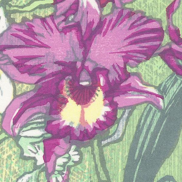 Orchids by Takao Sano (born 1941)