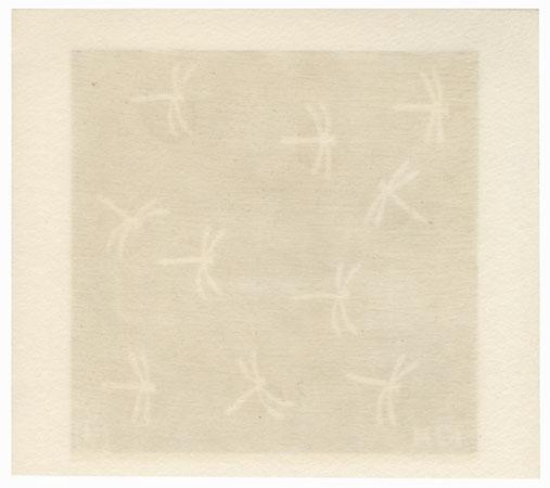 October: Dragonflies by Kikuo Gosho (born 1943)